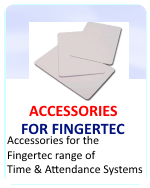Fingertec Employee Time Clock Accessories