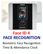 Fingertec Biometric Face Recognition Face ID 4