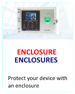 Fingertec Biometric Terminal Enclosures for Time Clocks